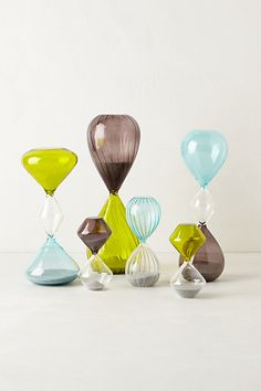 Color Blocked Hourglass #anthropologie $10-24 http://www.anthropologie.com/anthro/product/home-room/28497857.jsp