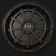 Fallout Vault Door fallout vault door cookie cuttergeek2geek on etsy | geek 2