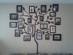Using the tree decal from Target!