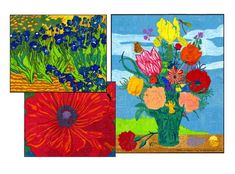 Mini Floral Murals
