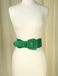 Green Pinup Cinch Belt #newarrivals #retro #accessories #pinup