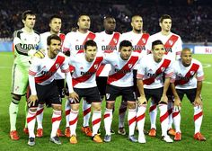 El once de river para la final.