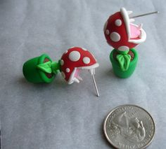 GUO GUO'S Handmade polymer clay Super Mario Youch by GUOCRAFTS, $19.90