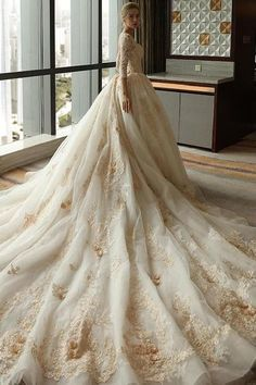 Sleeve Lace Appliques Tulle Ball Gown Plus Size Wedding Dress Wedding Dress Plus Size Wedding Dresses Ball Gown Wedding Dress Ivory Wedding Dress Lace Wedding Dress Wedding Dresses 2020 Plus Wedding Dresses, Western Wedding Dresses, Lace Wedding Dress With Sleeves, Long Sleeve Wedding, Plus Size Wedding, Perfect Wedding Dress, Bridal Dresses, Lace Dress, Dresses With Sleeves