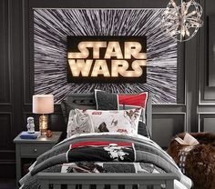 Star Wars™ Hyperdrive Mural | Pottery Barn Kids