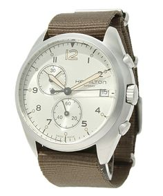 HAMILTON(ハミルトン)のKhaki Pilot Pioneer Chrono H76552955 ■(腕時計) カーキ