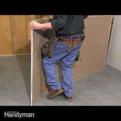 the family handyman editor, mark petersen, will show you how to cut drywall perfectly straight for a perfect fit every time. the better the installation, the easier it is to tape and mud.