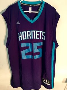 31cbedc4e4f NBA Al Jefferson Charlotte Hornets Basketball Shirt Jersey Vest