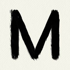 Alphabet M paint brush stroke style typography  | free image by rawpixel.com / Mind Sports Graphic Design, Free Illustrations, Brush Strokes, Paint Brushes, Free Images, Hand Lettering, Vector Free, Alphabet, Grunge