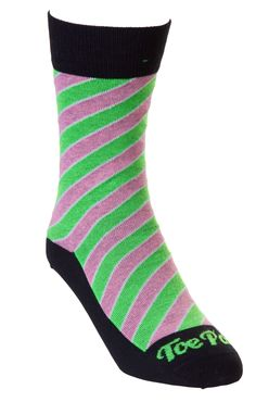Black Gigi Neon Stripe Toe Porn socks R80 each. View more of this bold sock collection on www.thestylista.co.za @thestylistaco #style #fashion #accessory #men #socks #thestylista