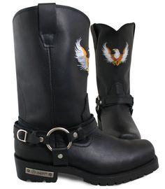 Harley-Davidson Leather | Harley-Davidson Men's Hustin Boot Wide ...
