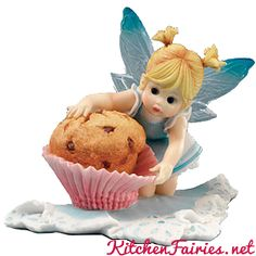Blueberry Muffin Fairie - From Series Twenty of the My Little Kitchen Fairies collection