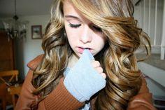 pretty blondish curls