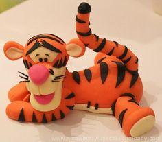 Tigger Cake Topper:
