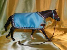 My Handmade Breyer Horse or Model Horse Blanket.