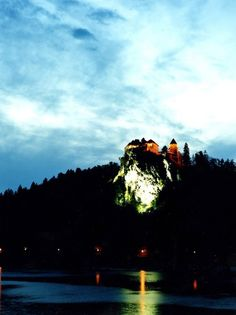 Bled Castle, on a cliff 427 feet above Slovenia's Lake Bled, dates to the eleventh century.