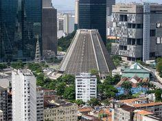 Catedral Metropolitana do Rio de Janeiro, Brasil -