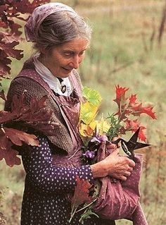 One of my favorite photos of Tasha Tudor