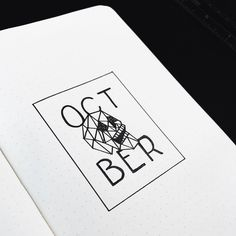 Almost October I went super simple with my bullet journal theme for October with just a couple spreads and no colour. Filmed the planning process as always and will post it in the next few days when I get the chance to edit. ///// I took a long break from blogging YouTube and social media due to circumstances in my real offline life. I'm exploring whether I want to come back on any sort of schedule or not but for now bullet journal plan with me videos are about all I can manage and will…
