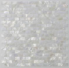 White Mother Of Pearl Tile Seashell Tile Kitchen Backsplash Bathroom Wall Tile 5 Sheets Kitchen Tiles, Kitchen Design, Mother Of Pearl Backsplash, Small Bathroom, Bathrooms, Bathroom Wall Tiles, Bathroom Cabinets, Bathroom Fixtures, Master Bathroom