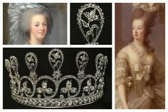 The Marie Antoinette Floral Tiara, I wonder how she was in actuality with the clothes and jewels~