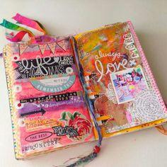 Tons & Tons of Wonderful Journal Pages Art Journal Backgrounds, Art Journal Pages, Art Pages, Art Journaling, Calendar Journal, Moleskine, Creative Journal, Creative Art, Junk Journal