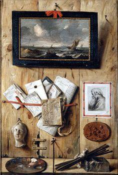 Still Life, Jean-François de Le Motte, about 1670. Musée des beaux-arts de Dijon.