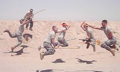 American soldies play quidditch in afghanistan on http://www.drlima.net