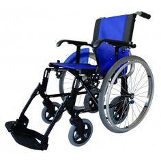 Silla de ruedas 2 en 1 LINE-DUO color azul.#antiescaras. #Silladeruedas #movilidad #accesibilidad #escaras #terceraedad #mayores #discapacidad #ortopedia #ortopediaplus #Wheelchair