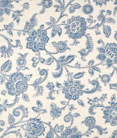 Shop Waverly Felicite Indigo Fabric at onlinefabricstore.net for $15.2/ Yard. Best Price & Service.