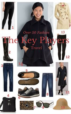 Have you clicked on one of those travel wardrobe sites only to find the clothes are frumpy and not very fashion forward?  Just because we...