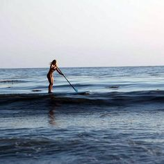 A great core workout, stand-up paddleboard also improves posture, balance, and aerobic conditioning. Another added benefit is a calmer state of mind from the peaceful environment. Body benefits: continually works the deep core muscles which flattens out the stomach, recruits the stabilizer muscles to stay balanced, combines cardio and strength training, which results in a lean strong figure