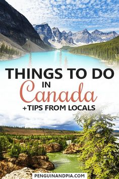 There are so many things to do and see in Canada - from Toronto (Ontario) to Vancouver (British Columbia), Montreal (Quebec) and beyond! In this guide, two Canadians share their best tips from cities, to national parks and beautiful off-the-beaten-path spots for your time in Canada! #canada #canadatravel #traveltips
