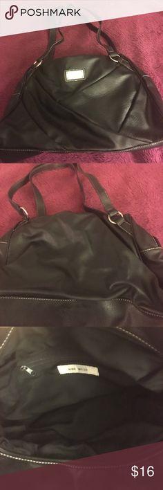 Black satchel purse Black satchel from Nine West Nine West Bags Satchels