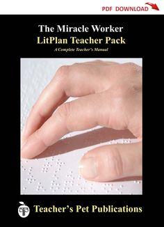 The Miracle Worker Lesson Plans | LitPlan Teacher Guide