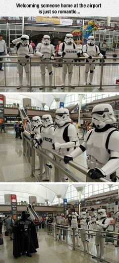 You Back From Your Coruscant Trip Yet? | For more #cool #funny #gif #gags #comic…