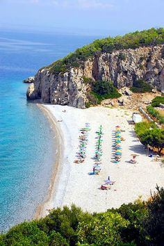 Praia Tsamadou, Ilha Samos, Grécia