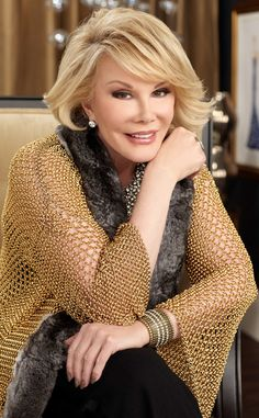 We're so sad to report Joan Rivers has passed away at 81. Our hearts go out to her family at this difficult time.