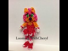 Rainbow Loom Amy Rose The Hedgehog character From Sonic the video game Figures charms . Looming WithCheryl. Tutorial is Now on YouTube! Gomas. Please Subscribe ❤️❤ m.youtube.com/user/LoomingWithCheryl