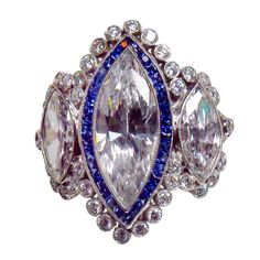 1stdibs - 1970s Marquise-Shaped Diamond Ring explore items from 1,700  global dealers at 1stdibs.com