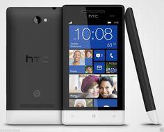 HTC Windows Phone 8S - 4 GB - Black (Unlocked) Smartphone