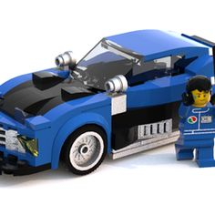 This is my fourth of six custom Lego Speed Champions race cars. This model uses 179 bricks for the car and 124 bricks for victory lane, so only 303 bricks for everything including the minifigure. I know that the Speed Champions line is based on real cars, but what is Lego if you can't make your own? This is why I have created my own unique designs. If you want to see more projects like this one then make sure to click that support button, share it with everyone you know, and follow it! Th...