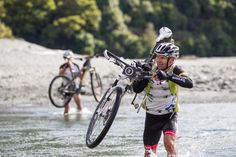 A bike, kayak, abseil and run; watch all of the highlights from day one of Red Bull Defiance Red Bull, Kayaking, Highlights, Bicycle, Running, Watches, Day, Kayaks, Bike