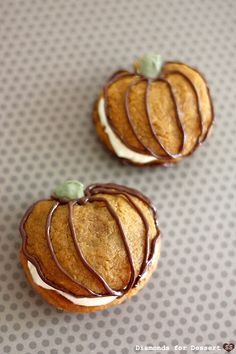 Pumpkin Whoopie Pies!  Great as Thanksgiving desserts.