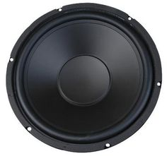 """MCM Audio Select 55-2973 12"""" Woofer with Poly Cone and Rubber Surround 120W RMS at 8ohm by MCM. $13.99. Ideal in two or three way applications, or as a subwoofer Suitable for sealed or vented enclosures 120W/240W RMS/peak Polypropylene coneRubber surround1.5"""" voice coil24oz. magnet Sensitivity: 91dB (W/M)Impedance: 8ohmRe: 7.2ohmLe: 0.91mHFrequency response: 50Hz~5KHzFs: 42HzQts: 0.47Qes: 0.57Qms: 3.24Vas: 122.6 litersXmax: 5mmOverall frame diameter: 12.20""""Required cutout: 1..."""