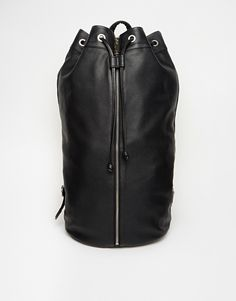 ASOS Simple Leather Sailor Bag