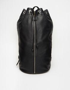 ASOS Simple Leather Sailor Bag