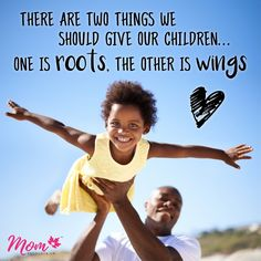 It's hard letting our little ones go... but when we do they learn to fly!  #parentinginspiration #pricelessmoments #letthembelittle #momlife #momquote #theyreonlylittleonce #giveyourchildrootsandwings #unitedinmotherhood #canadianmoms #momresourceca