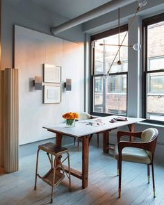Office and studio of Manhattan's Apparatus Studio | 2Modern Blog #modernoffice