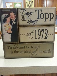 Cheap Wedding Gift Ideas For Couple : 1000+ ideas about 35th Wedding Anniversary on Pinterest Wedding ...